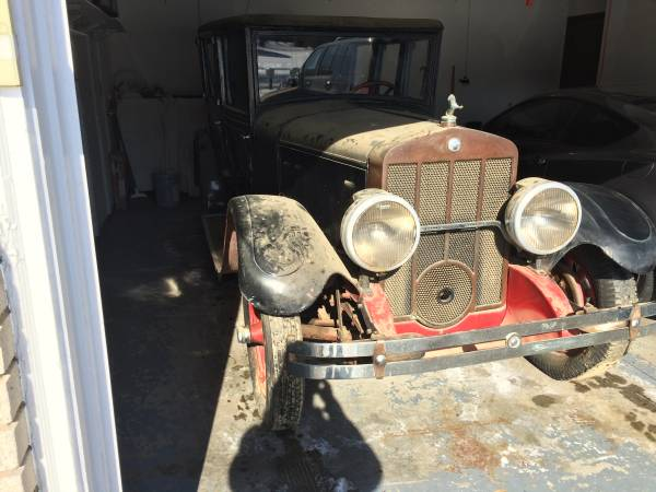 Auctions In Ohio >> Air Cooled Baby: 1928 H.H. Franklin 12B