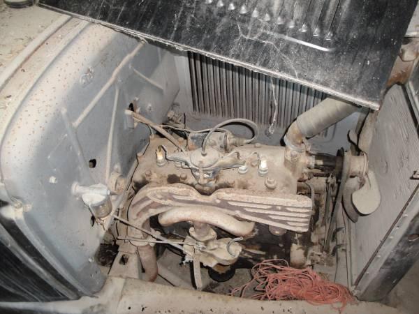 '30 Ford Tudor engine