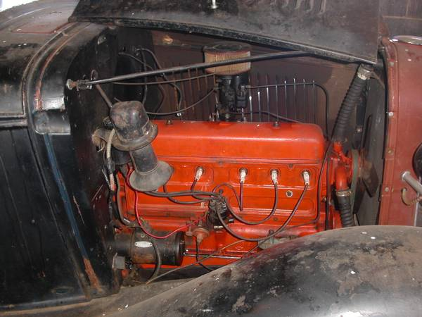 '33 Coupe engine