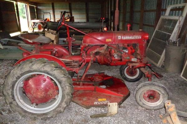 be ready for 1949 farmall cub