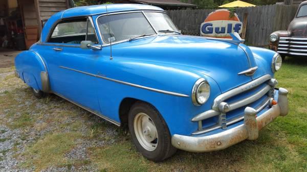 '49 Deluxe left front