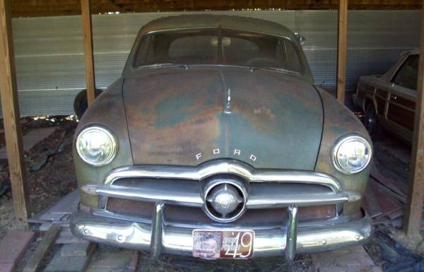 Old Barn Patina 1949 Ford Custom Coupe