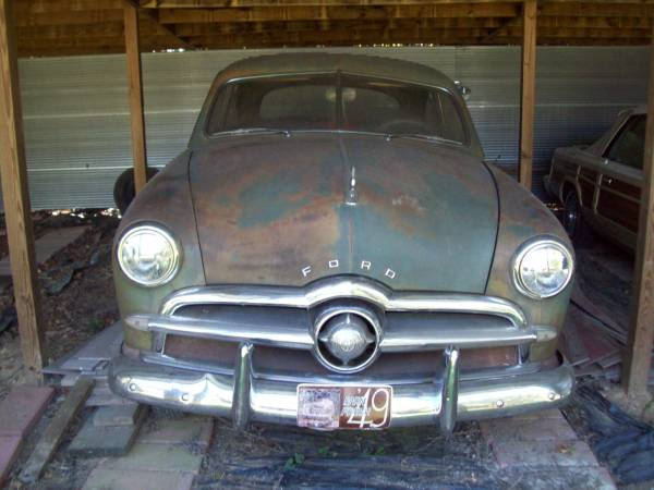 Old Barn Patina: 1949 Ford Custom Coupe