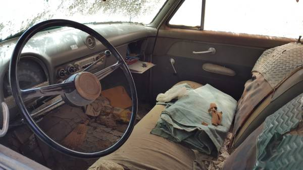 '52 Mainline front seat
