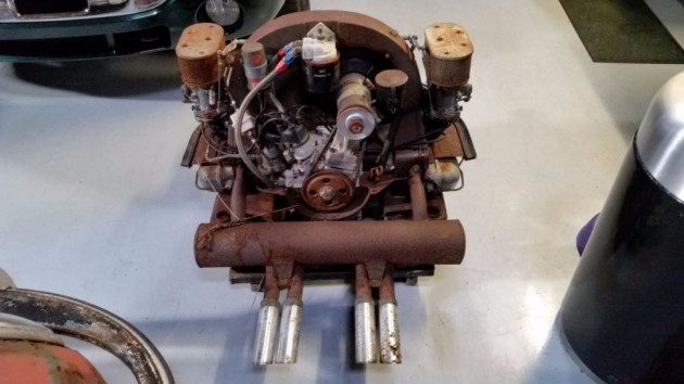 '55 356 barn engine