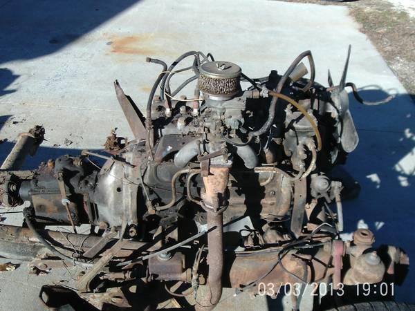 '55 MB engine