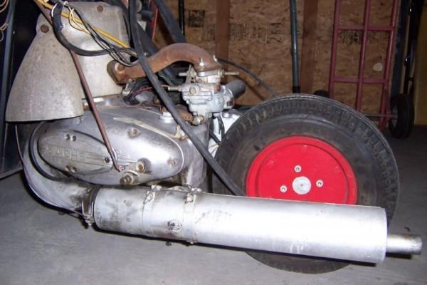 '55 Messerschmitt drive train
