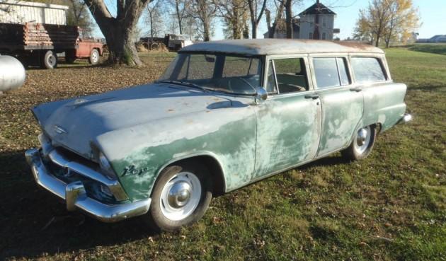 '55 Plymonth Plaza wagon