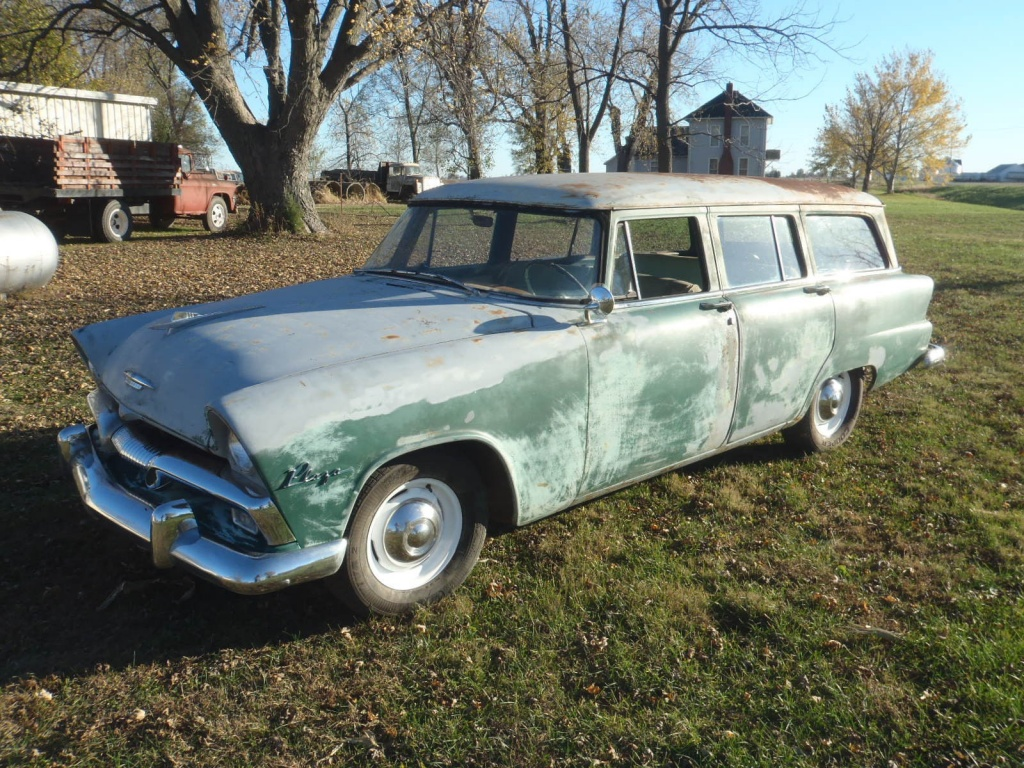 Winter Project 1955 Plymouth Plaza Wagon