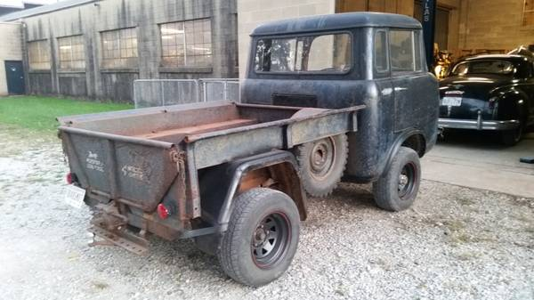 Jeep Fc For Sale >> Keep Moving Forward 1958 Willys Jeep Fc 150