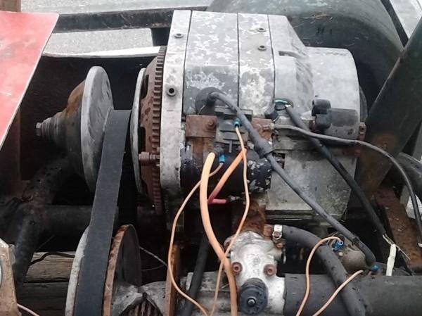 '60s Malibu racer engine