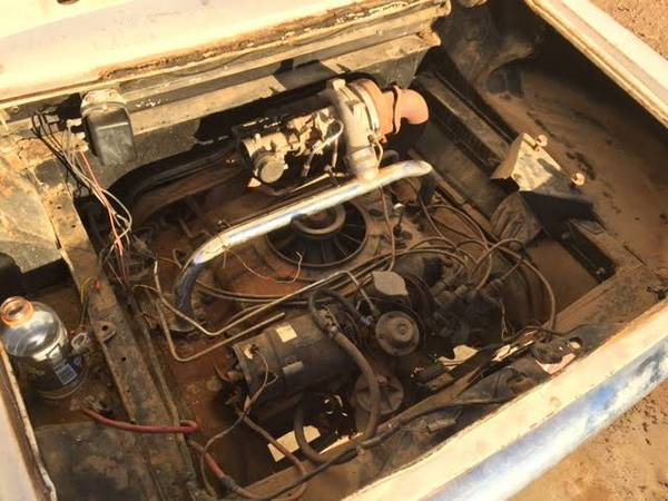 '62 Corvair engine