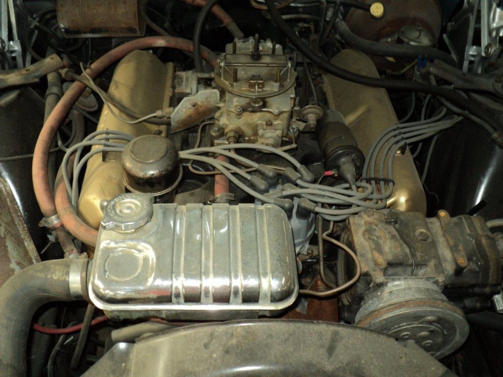 '64 Thunderbird engine