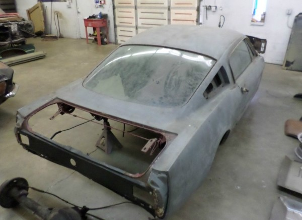 '65 Fastback project rear