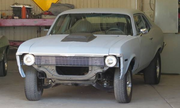 1969 Chevy Nova Roller Project