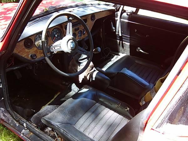 '70 GT6 dash