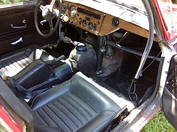 Spitfire With A Six: 1970 Triumph GT6
