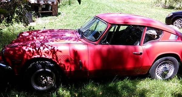 '70 GT6 left side