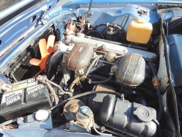 '73 BMW 3.0 engine