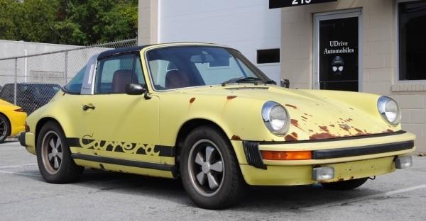 Just Not Enough Rust: 1974 Porsche 911
