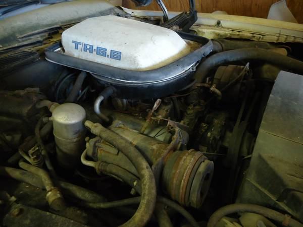 '77 Tans AM engine