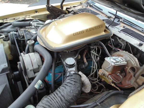 '79 Firebird engine
