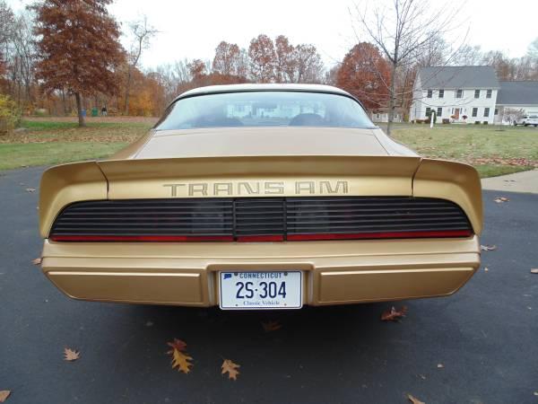 '79 Firebird rear