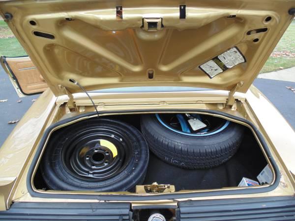 '79 Firebird trunk