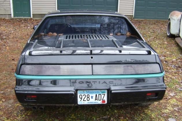 '84 Pontiac Fiero rear