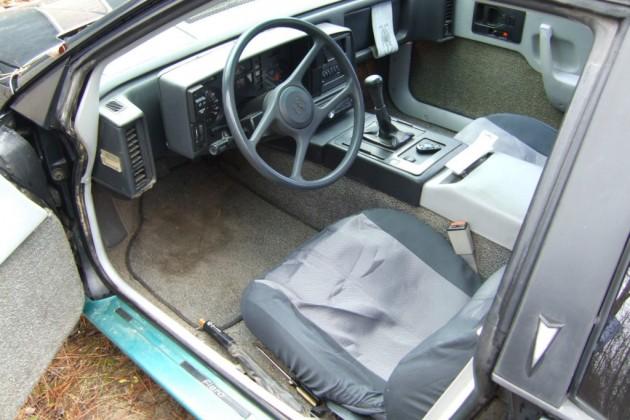 '84 Pontiac Fiero seats