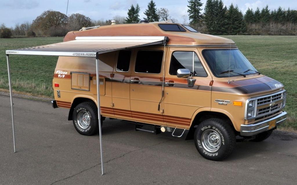 Ready To Play: 1989 Chevrolet Falcon 4x4 Van