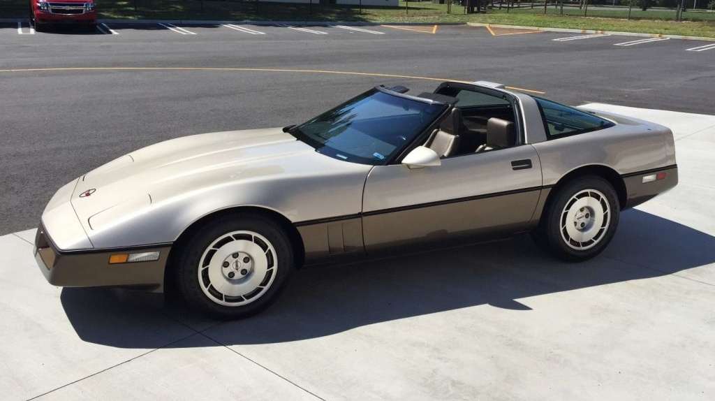 featured find  1986 corvette with only 3 500 miles