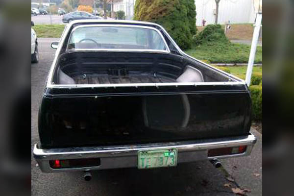 1978 El Camino SS: Party In The Back