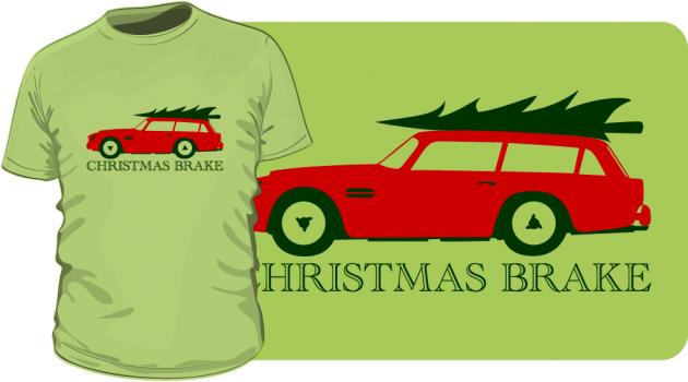 Christmas Brake T-Shirt 2