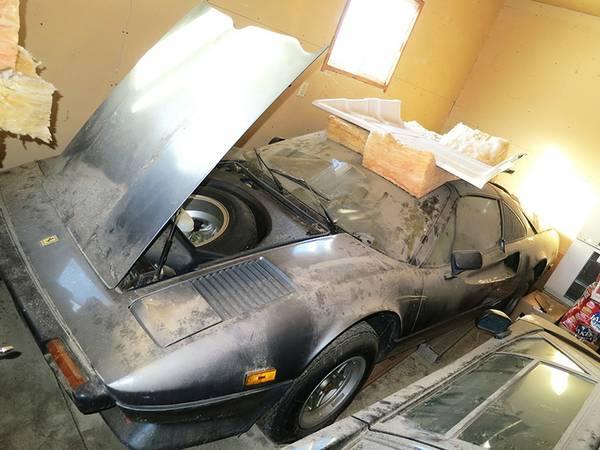 Exotic Barn Find 1979 Ferrari 308 Gts