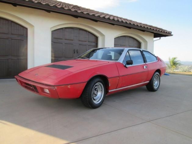 No Reserve: 1977 Lotus Eclat