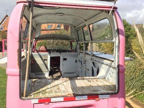 Pink Bus rear
