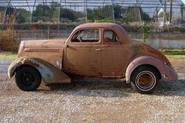 Plymouth Coupe Project