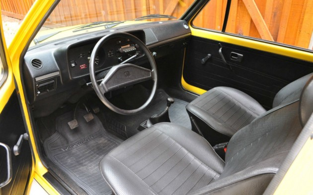 Amazing Survivor 1977 Volkswagen Rabbit