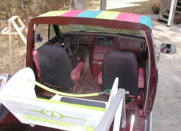 Really? Van? top view
