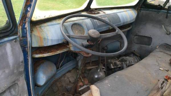 Rust Stained Dash