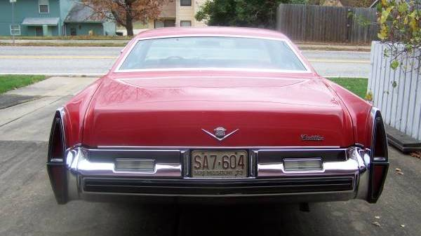 Seeing Red 1973 Cadillac Coupe Deville