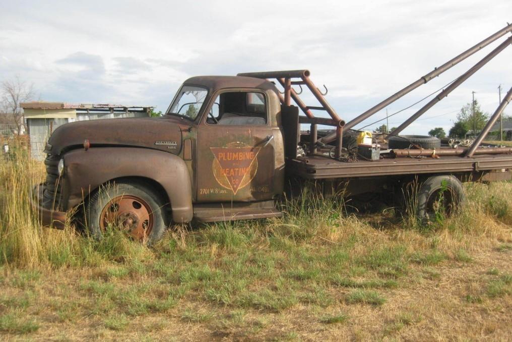 Big Mater Chevy 6200 Boom Truck