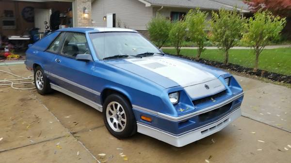 Is It A Classic 1986 Dodge Shelby Charger Turbo