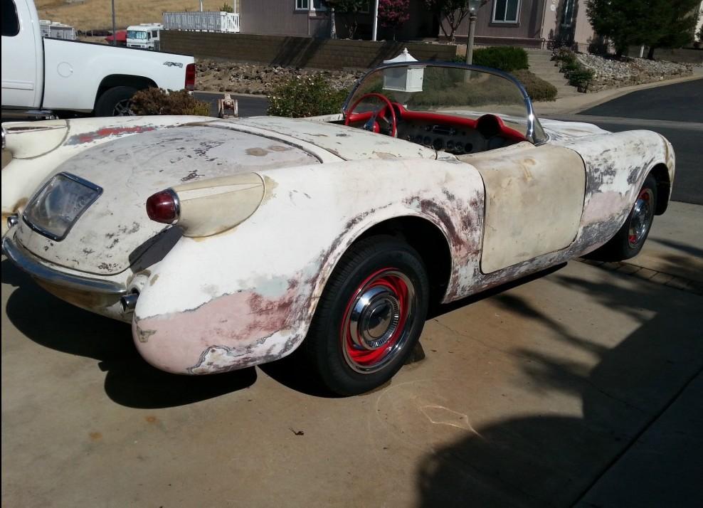 1953 Prototype? C1 Corvette Puzzle
