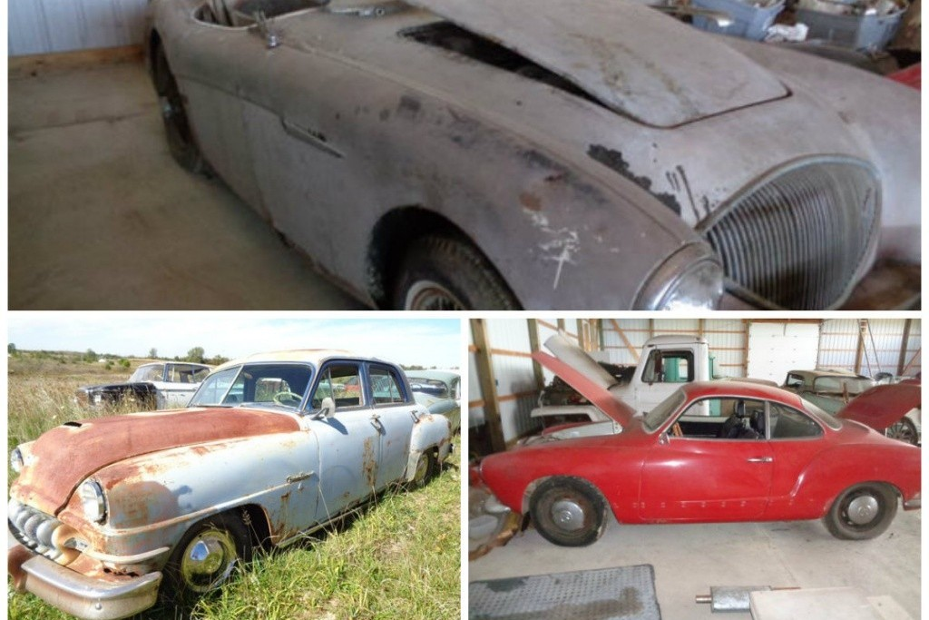 50 Barn Finds Up For Auction In Ohio