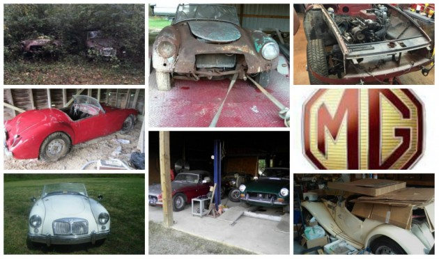 Lots Of MG Finds: Do You Want One?