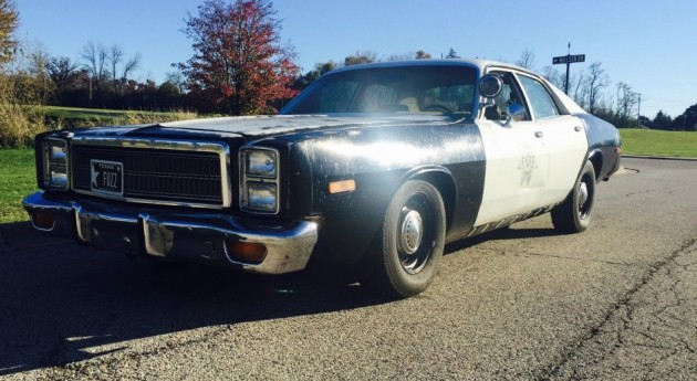 Re Chrome Rims >> Be The Fuzz: 1976 Plymouth Fury