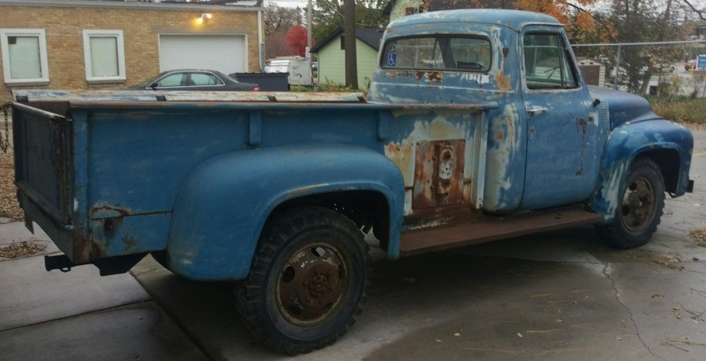 Big Little Truck: 1953 Ford F350 Long Bed