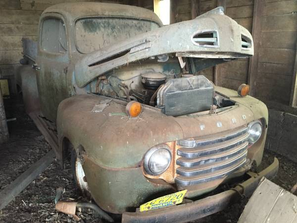 Barn Finds Dodge Power Wagon moreover Ford Farm Truck Side View moreover Ford Mustang Mach likewise Ford Panel Truck Red Le further Old Smokey Whp Ford Pickup. on 1949 ford truck craigslist